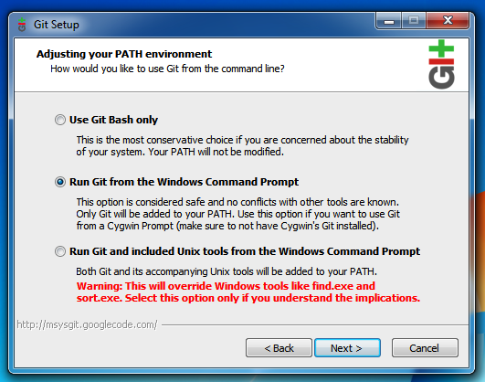git bash basic commands windows